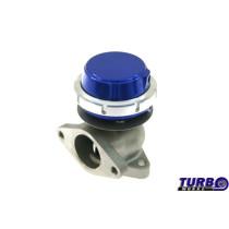 Külső wastegate TurboWorks 38mm 0,5 Bár Kék